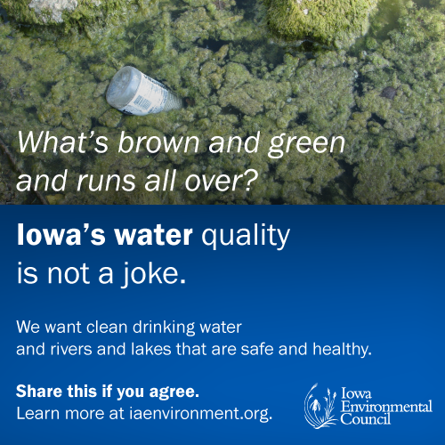 Take action now for clean water.