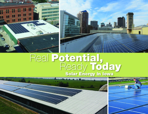 The cover of the Council's new publication on solar energy, released on January 30, 2014.